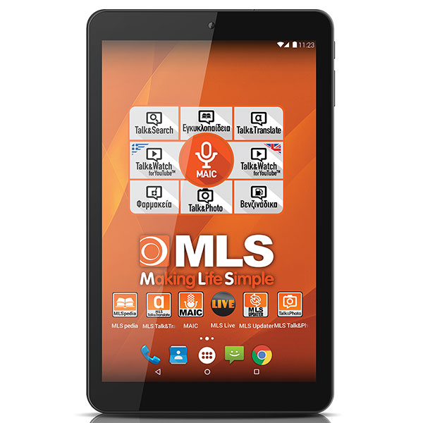"MLS Life Black Tablet 10.1"" 3G 1GB/16GB"