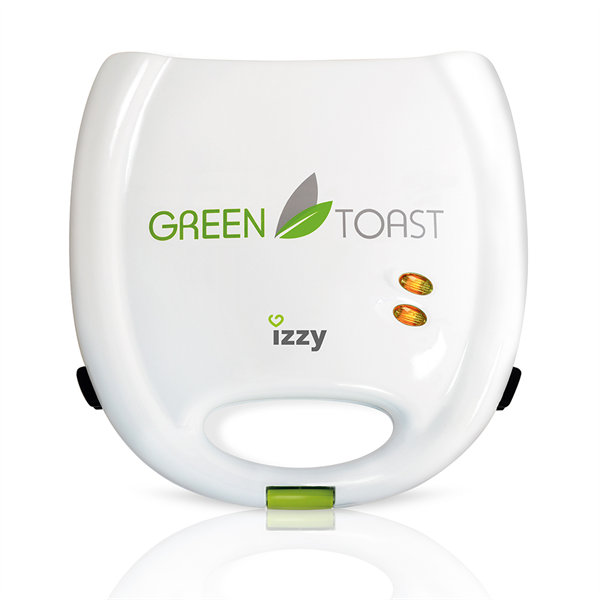 Izzy S-627 Green Toast Τοστιέρα - Σαντουϊτσιέρα 700W