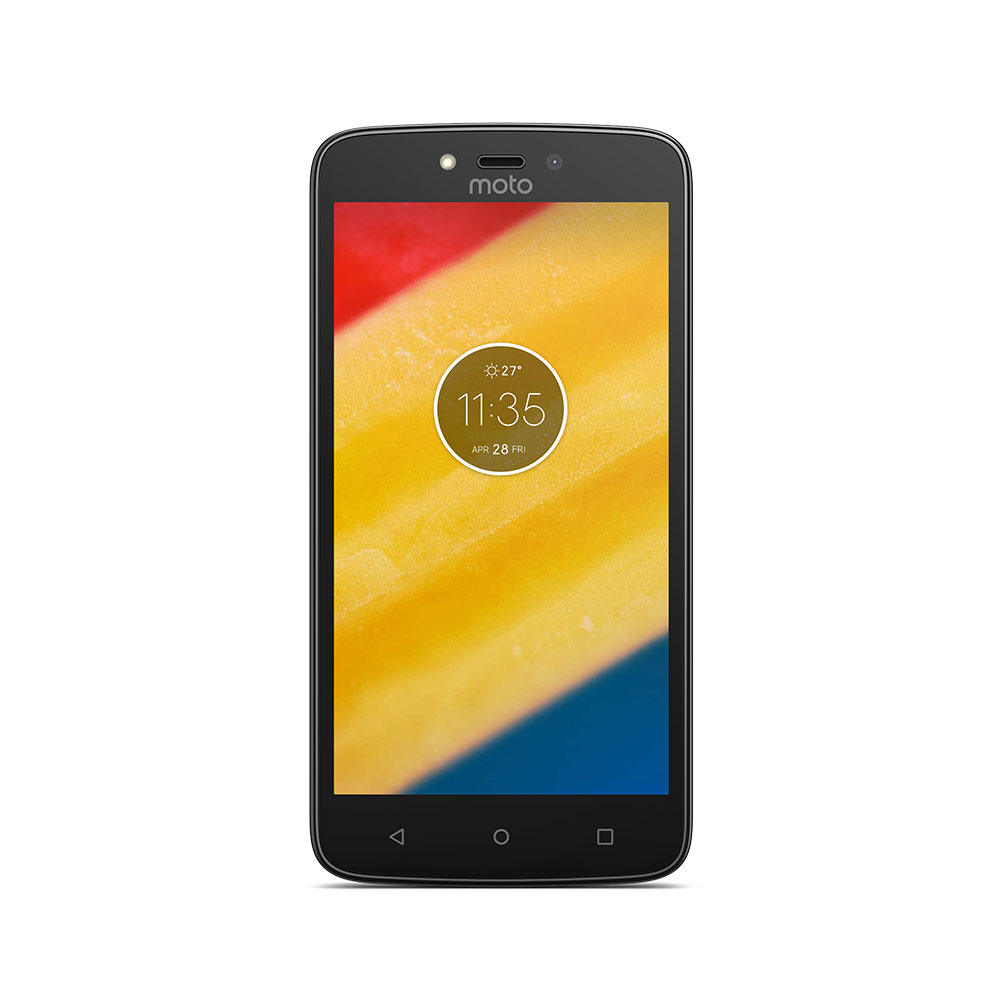 "Motorola Moto C Plus Black Smartphone 5"" 4G DS 1GB/16GB"