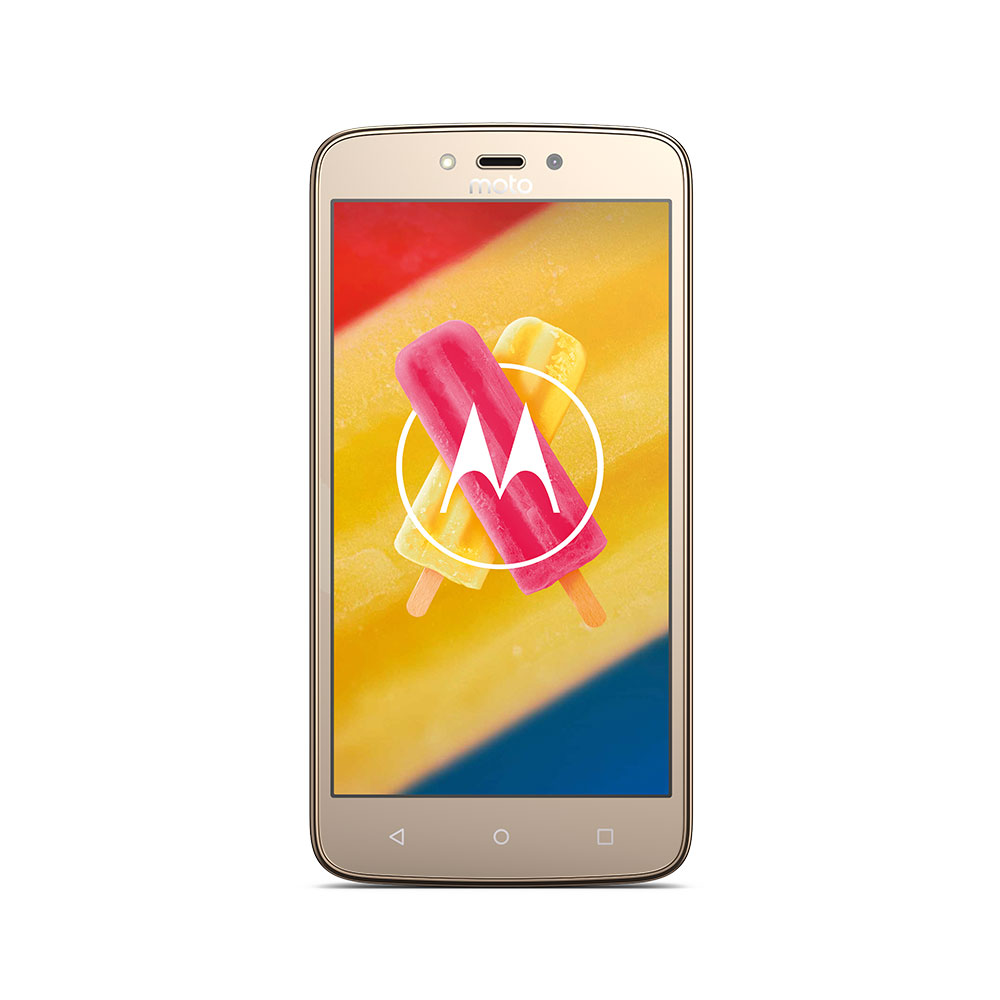 "Motorola Moto C Plus Gold Smartphone 5"" 4G DS 1GB/16GB"