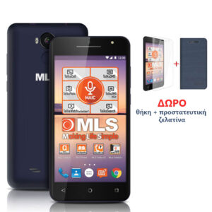 "MLS F5 Black-Blue Smartphone 5"" 3G DS 2GB/16GB"