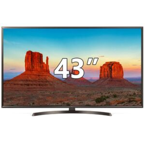 LG 43UK6400PLF Ultra HD 4K TV 43″
