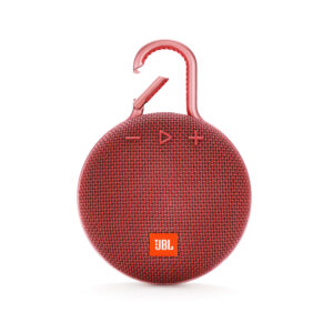 JBL Clip 3 Bluetooth Speaker Waterproof-IPX7 Red