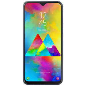 "Samsung Galaxy M20 64GB 6.3"" Charcoal Black"