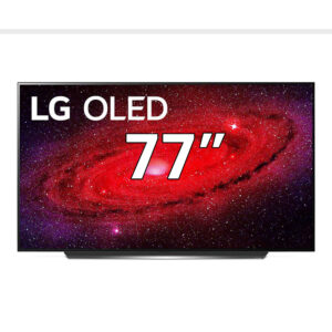 "LG OLED77CX6LA CX 77"" 4K Ultra HD Smart OLED TV"