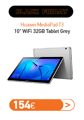 Huawei MediaPad Τ3 10″ WiFi 32GB Tablet Grey