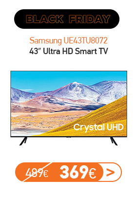 Samsung UE43TU8072 43″ Ultra HD Smart TV